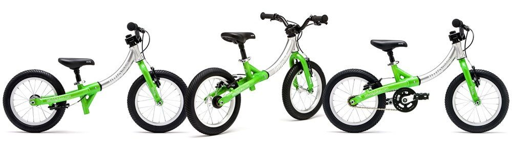 LittleBig bike as a balance bike and pedal bike
