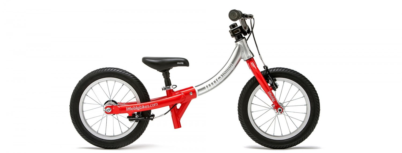 LittleBig-Big Balance Bike Red Header