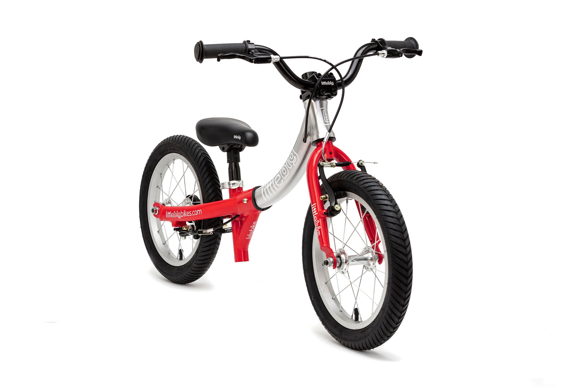 balance bike little mode red front