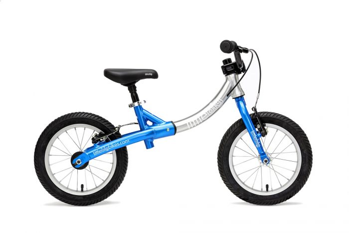 LittleBig big balance bike blue side