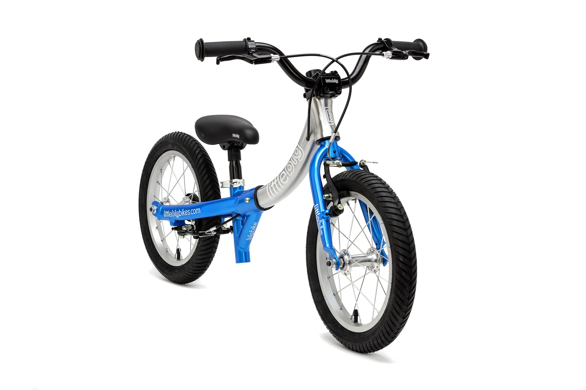 LittleBig bike blue front view