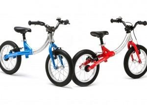 LittleBig growing balance bike to pedal bike.