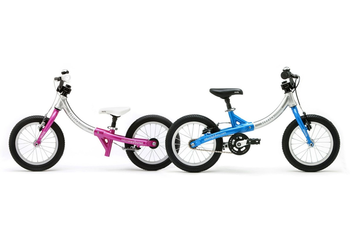 LittleBig balance bike and pedal bike