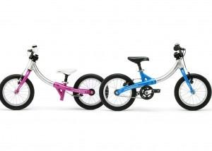 LittleBig balance bike and pedal bike