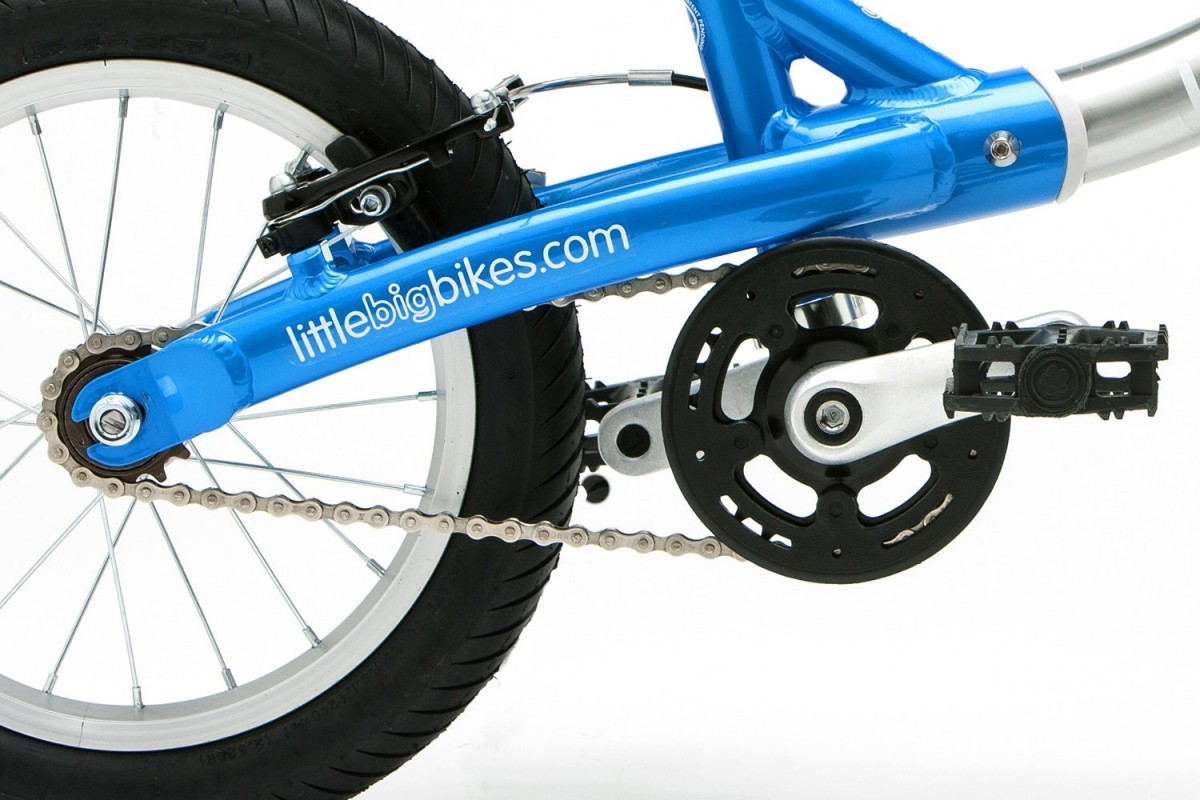 Rust proof nickel plated chain, alloy cranks, resin pedals, long lasting sealed bottom bracket