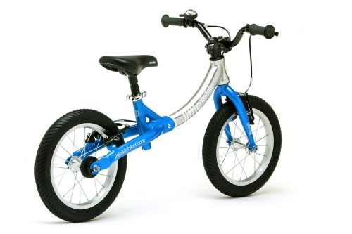 LittleBig big balance bike, Electric Blue - back view