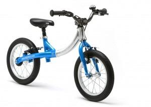LittleBig big balance bike, Electric Blue - front view