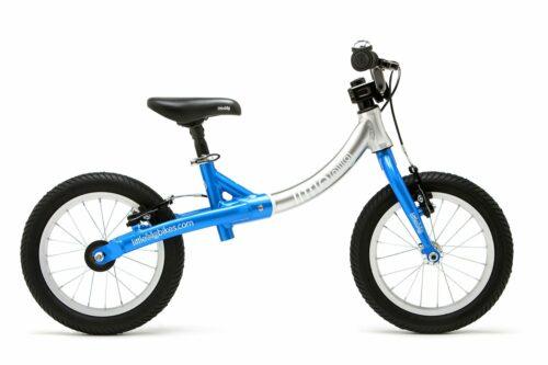 LittleBig big balance bike, Electric Blue - side view