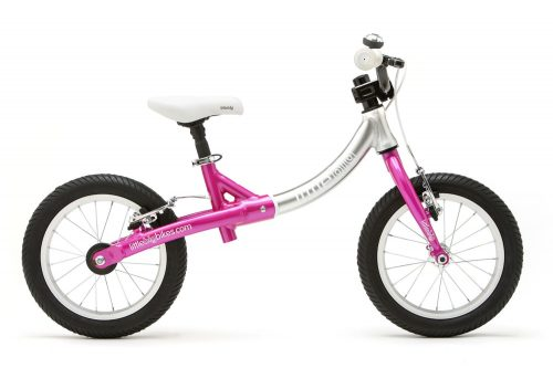 LittleBig big balance bike, Sparkle Pink - side view