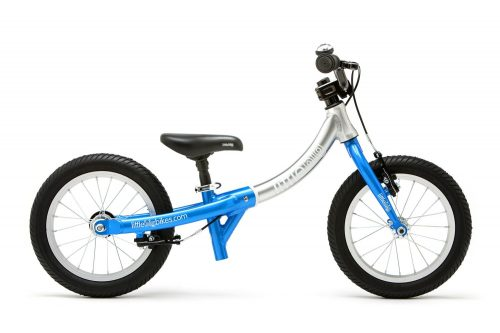 LittleBig little balance bike, Electric Blue - side view