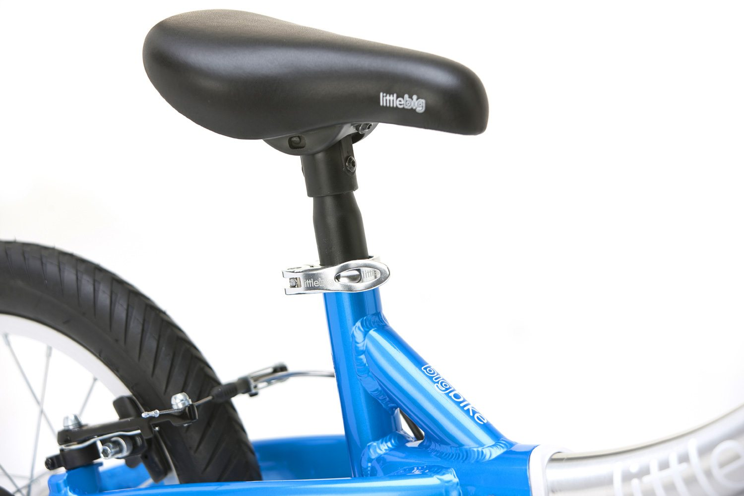 Lightweight pivotal saddle, alloy seatpost and quick release seat-clamp