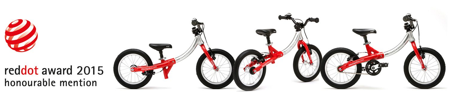LittleBig balance bike and pedal bike receives Red Dot Award 2015