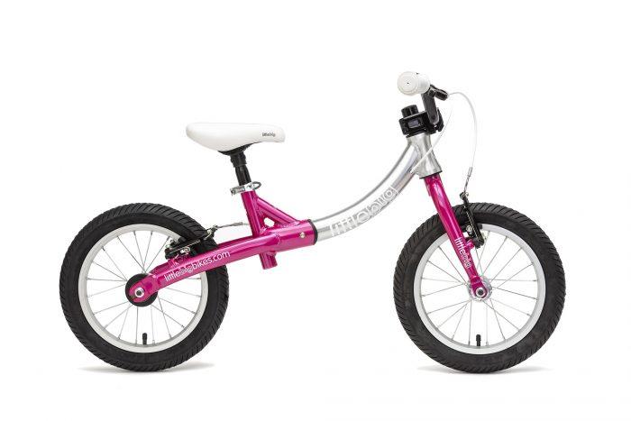 LittleBig big balance bike pink side