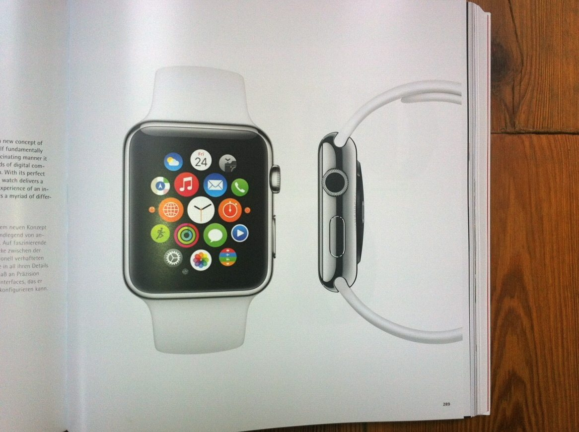Apple Watch in the Red Dot Design Yearbook 2015