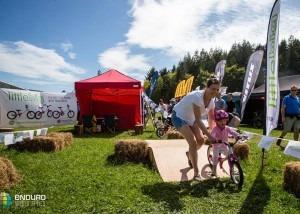 LittleBig bikes at the Enduro World Series