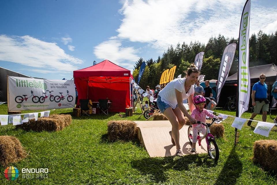 LittleBig bikes at the Enduro World Series