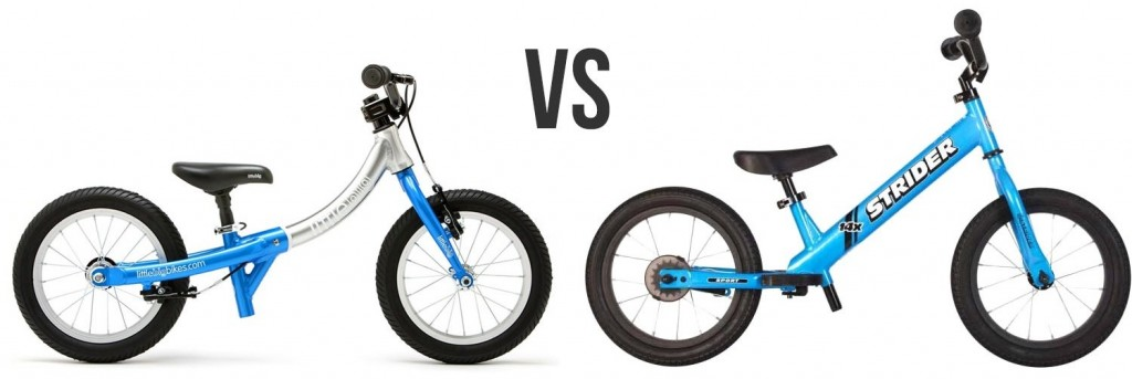 littlebig bike vs strider 14x convertible balance bike