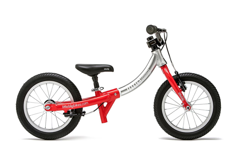 LittleBig little balance bike side view red