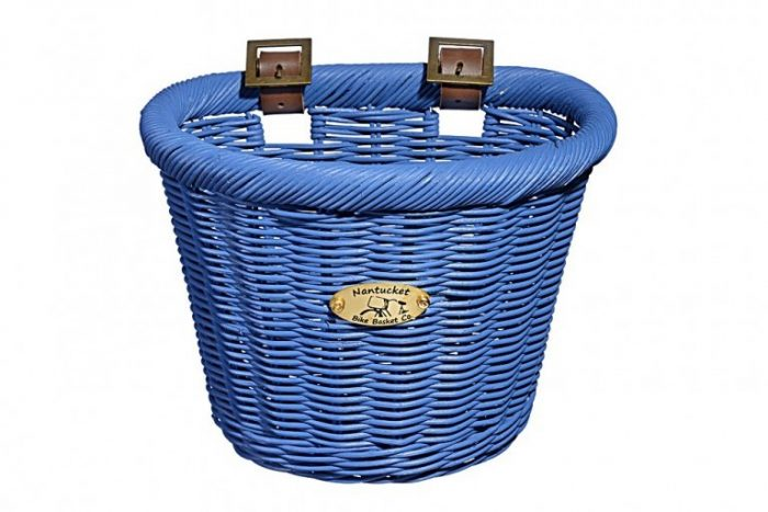 Nantucket Basket Blue