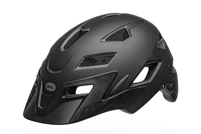 bell sidetrack helmet black