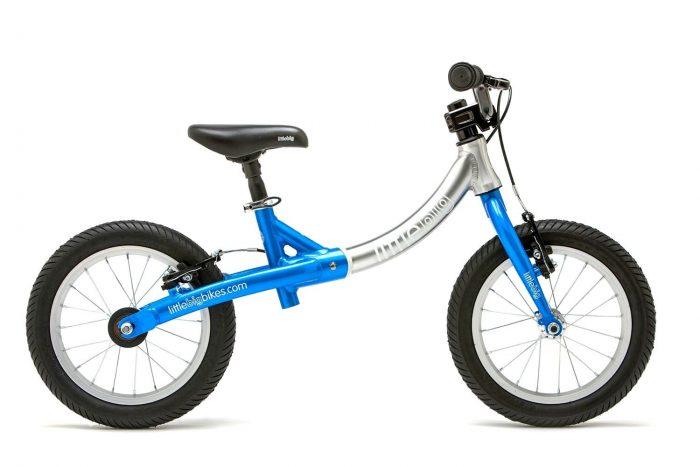 LittleBig big balance bike for a 4 or 4 year old blue