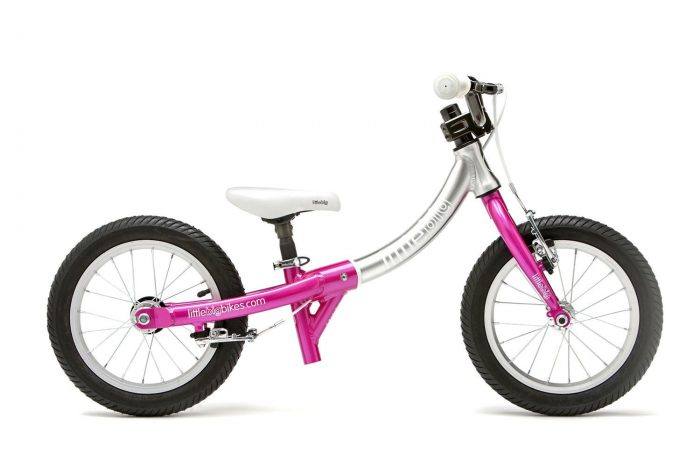LittleBig balance bike in sparkle pink