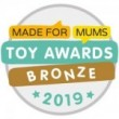 Made For Mums Toy Awards 2019 Bronze