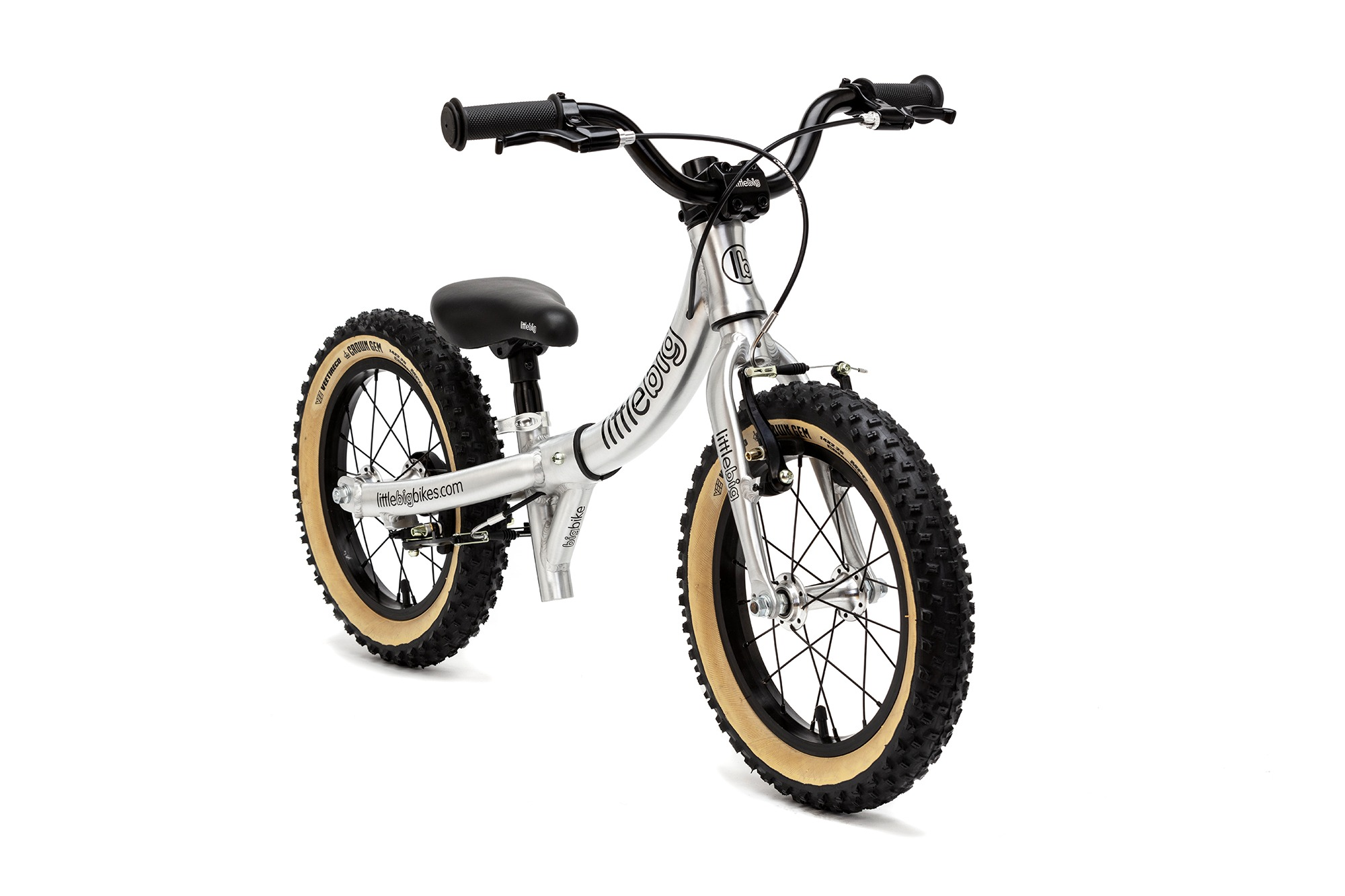 PLUS+ balance bike little mode brushed front
